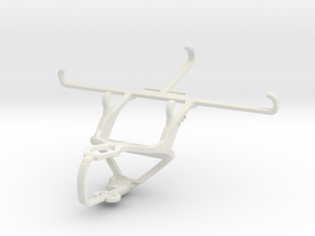 Controller mount for PS3 & Realme Q in White Natural Versatile Plastic