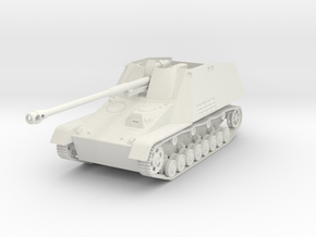 Nashorn 1/32 scale in White Natural Versatile Plastic