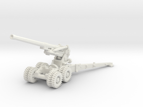 7.2 inch Howitzer 1/87 in White Natural Versatile Plastic