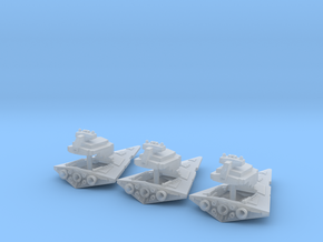 Tiny Lightable Space Destroyers (17mm) in Smooth Fine Detail Plastic