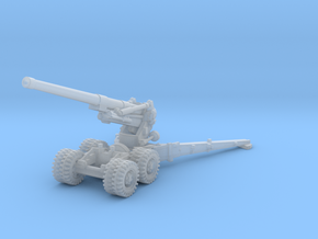 BL 7.2 inch Howitzer 1/144 in Smooth Fine Detail Plastic