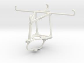 Controller mount for Nimbus & Apple iPhone 11 Pro  in White Natural Versatile Plastic