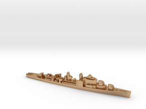 USS Henry A. Wiley destroyer ml 1:2400 WW2 in Natural Bronze