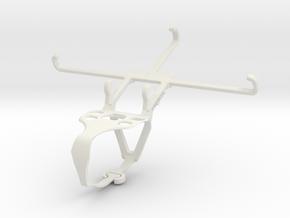 Controller mount for F710 & Motorola One Zoom - Fr in White Natural Versatile Plastic