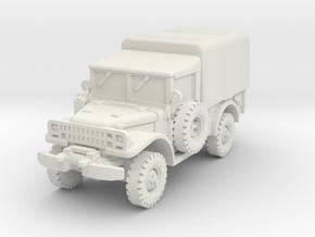 Dodge M37 (closed) 1/76 in White Natural Versatile Plastic