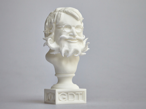 Guillermo Del Toro Cthulhu bust in White Processed Versatile Plastic