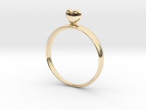 Loving You 46 in 14K Yellow Gold
