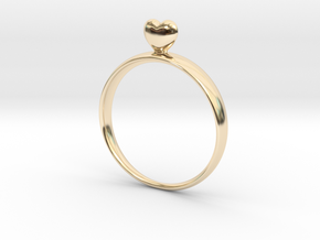 Loving You 47 in 14K Yellow Gold