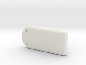 MetaWear ActivTrac Lower Case in White Natural Versatile Plastic