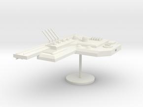 5-Module-Arm-Left in White Natural Versatile Plastic