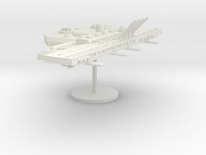 6-Module-Arm-Right in White Natural Versatile Plastic