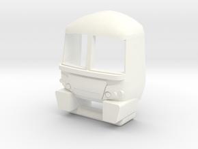 Class 365 EMU Cab - OO in White Processed Versatile Plastic