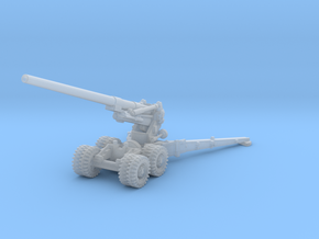 M1 155mm Long Tom 1/144 in Smooth Fine Detail Plastic