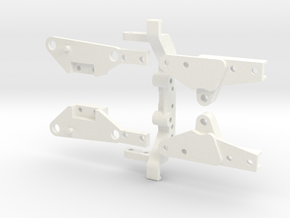 rtfl01-01 Trailfinder 2 LWB Chassis Extension in White Processed Versatile Plastic