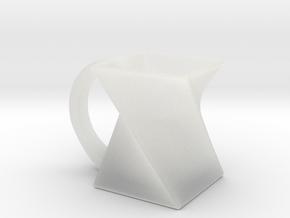 Twist Mug in Smooth Fine Detail Plastic