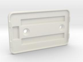 Distribution PCB Mount in White Natural Versatile Plastic