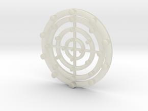 Target Coaster in Transparent Acrylic