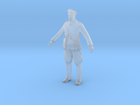 Printle C Homme 456 - 1/48 - wob in Smooth Fine Detail Plastic