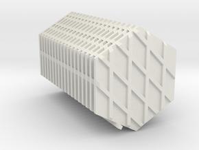 "Omni Scale Tholian 1"" Web Panels (20) SRZ in White Natural Versatile Plastic"