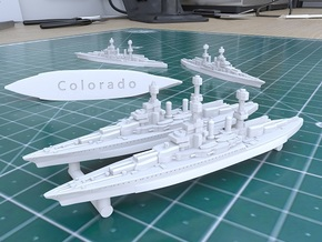 Colorado Class 1922 [x4] in White Natural Versatile Plastic