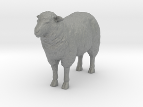 1-20th Scale Sheep in Gray PA12