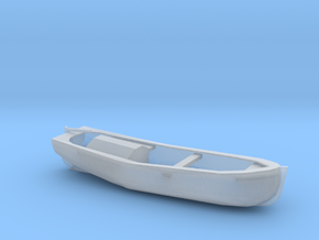 1/192 Scale 27 ft Motor Work Boat in Smooth Fine Detail Plastic