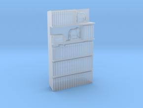 1/56th (28 mm) Bookshelf Insert 02 in Smooth Fine Detail Plastic