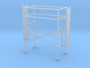 1/87 Scaffold single stage in Smooth Fine Detail Plastic
