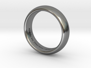 Anillo_dos in Polished Silver: 5 / 49
