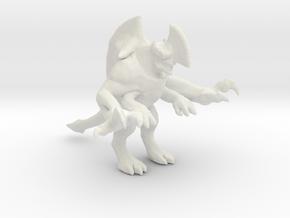Pacific Rim Axehead Trespasser Kaiju Monster in White Natural Versatile Plastic