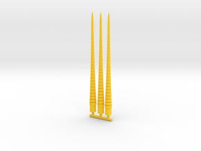 Lobstros Antenna in Yellow Processed Versatile Plastic