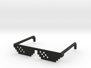 Tough Life Glasses in Black Natural Versatile Plastic