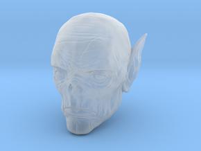 Vampire Head in Smoothest Fine Detail Plastic