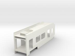 P2550 Coach in White Natural Versatile Plastic