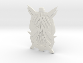 Plasma Shield in White Natural Versatile Plastic