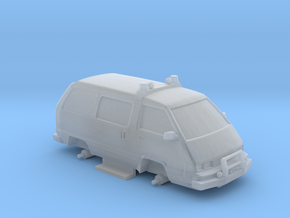 1-87 Scale 4x4 Snow Taxi in Smooth Fine Detail Plastic