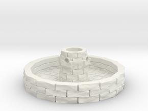 Water Fountain 1/43 in White Natural Versatile Plastic