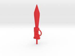 Sludge Energo Sword in Red Processed Versatile Plastic: Medium