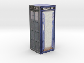 Tardis model 1 part 2 in Full Color Sandstone