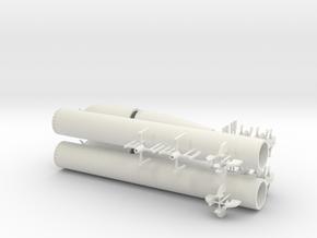 1/32 DKM G7 torpedo (21 in) KIT x2 in White Natural Versatile Plastic