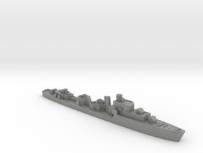 HMS Saumarez destroyer 1:3000 WW2 in Gray PA12