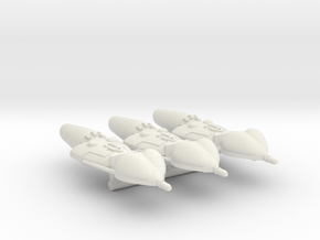 Spacer1999 Psychon Wolf Pack in White Natural Versatile Plastic
