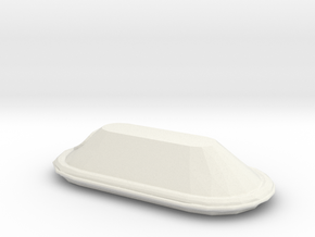 1/48 Scale 15 Person Inflatable Lifeboat Mk 3 in White Natural Versatile Plastic