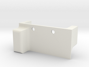 microswitch holder for L85 modification. in White Natural Versatile Plastic