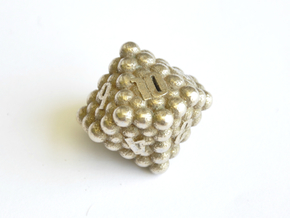 D10 Balanced - Balls in Polished Bronzed-Silver Steel