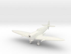 Spitfire Mk Vc Tropical Wheels Down in White Natural Versatile Plastic: 1:144