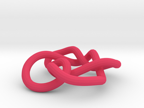 Celtic Heart Knot in Pink Processed Versatile Plastic