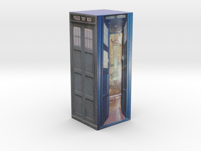 Tardis Model 2  Part 2 in Full Color Sandstone