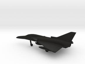 IAI Kfir TC.7 in Black Natural Versatile Plastic: 1:200