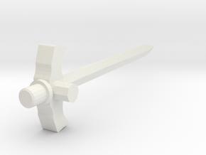 YU-DO Ryusoul Master Sword Peg Ver. in White Natural Versatile Plastic
